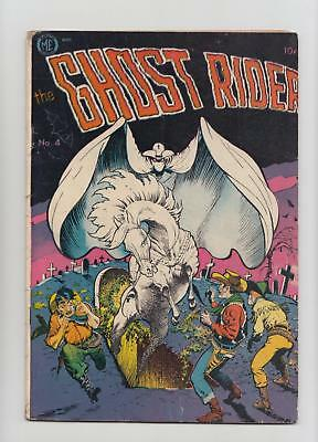 Ghost Rider #4 Frank Frazetta Cover; Canadian Edition (Superior 1951) VG/FN 5.0