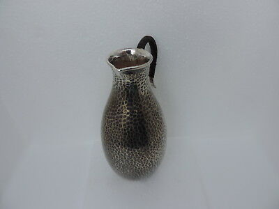 ANTIQUE JAPANESE STERLING SILVER SAKE WINE EWER PITCHER DECANTER 79 gr 2.8 OZ