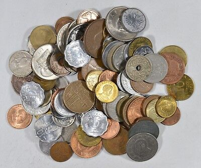 Roughly a POUND of Mixed World Coins - Great Mix *192