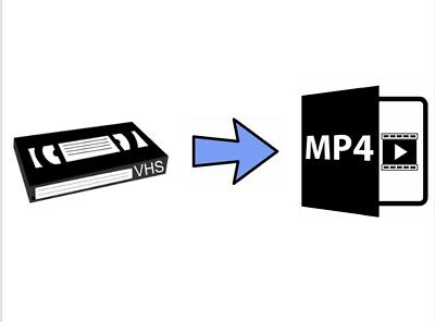 Video Tape Transfer Service to MP4  VHS Or VHS-C Convert to Digital Fast Service