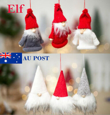 Christmas Santa Claus Elf Red Wine Bottle Mouth Cover Dinner Party Xmas AU