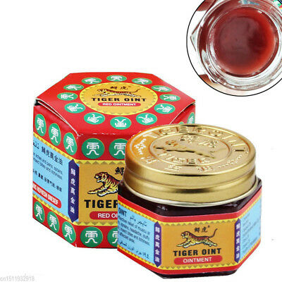 19.5g Tiger Balm Red White Thai Herb Ointment Aches Pains Relief Massage Relax