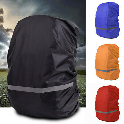 Outdoor Travel Elastic Reflective Backpack Rain Cover Waterproof Protector Stric