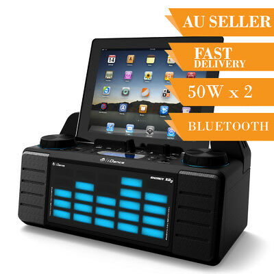 Bluetooth Speaker Portable Party DJ System iDance XD2 IOS Android USB AUX