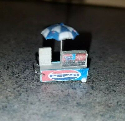 Miniature Pepsi Cola Drink Cart Dollhouse Miniature Collectible