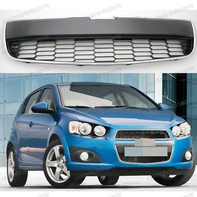 NEW Lower Front Grille Grill OEM Black For Chevrolet Aveo 2011-2016