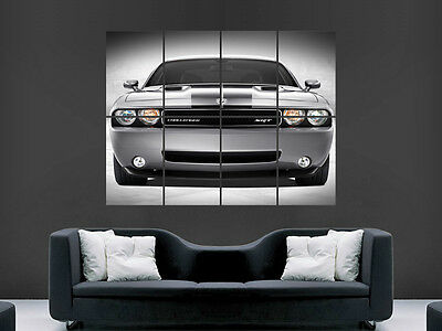 1189/x 841/mm American muscle Cars Mustang Chevrolet Dodge Challenger P/óster A0/