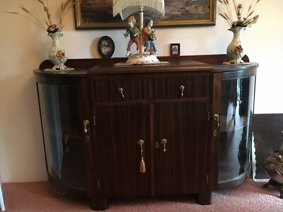 Art Deco Buffet/Display Cabinet