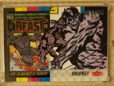 BEAST 2018 Fleer Ultra X-Men 3 STAX Card Character Set Lot(Top, Middle & Bottom)