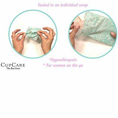 b667bacecfbd2 CupCare The Ultimate Disposable Bra Liner Breast Sweat Pads for Women