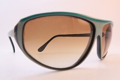 Vintage 80s Lacoste sunglasses green Mod 175 gradient lens made in France