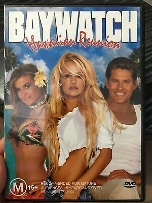 Baywatch - Hawaiian Reunion region 4 DVD (2003 Pamela Anderson tv movie)