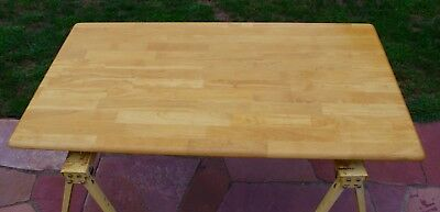 Dining Table and 4 Chairs Solid Wood Casual Country Style 5x3 Local Pickup NJ