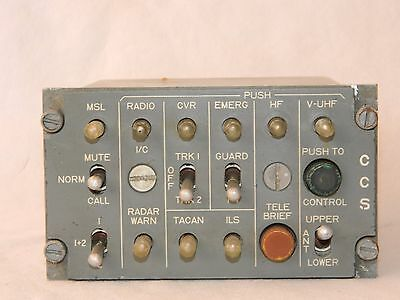 CCS Station Control Box Used In Tornado Aircraft Part No 8-701-569-46 M1C