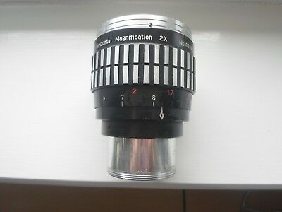 ANAMORPHIC  ( CINEMASCOPE ) LENS FOR 16mm PROJECTOR