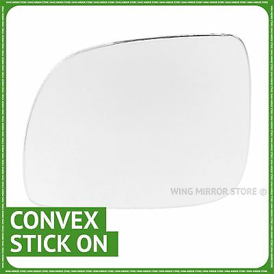 VW Polo 2000-2002 right driver off side convex mirror glass 224RS
