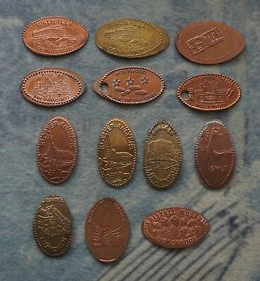 13 Elongated Coins