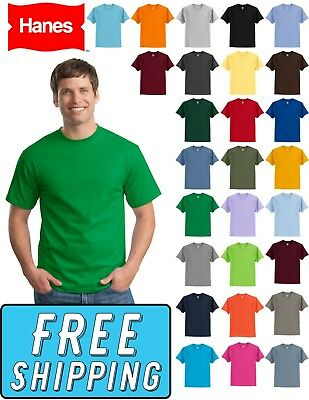 Hanes 5250 Tagless 100% Cotton Comfort Blank T-Shirt