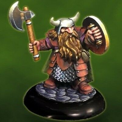 Reaper Dungeon Dweller 07011 Borin Ironbrow Dwarf Fighter Lord Norse Hero Cleric