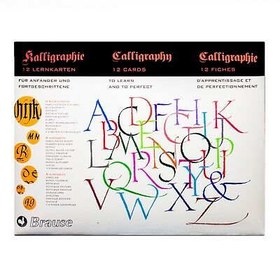 "Brause ""introduction to Calligraphy Lettering"" Kit"