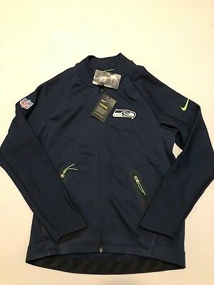 df71ebad782b Seattle Seahawks Nike NFL Therma Fit Sideline Coaches Jacket Men s Size XL