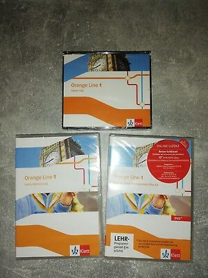 Orange Line 1 - Lehrer CDs, DVD Digitaler Unterrichtsassistent Plus 2.0, CD...