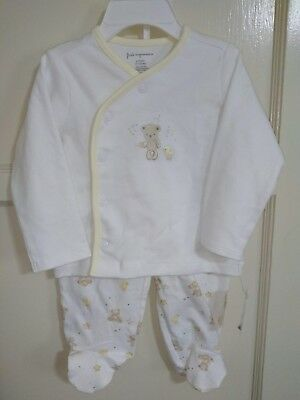 FIRST IMPRESSIONS 6-9 Months Brand New 2 Piece Boys Girls Layette Set | NEW