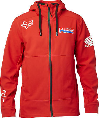 Fox Racing HRC Pit Mens Jacket Red