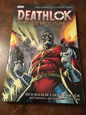 Marvel Deathlok The Demolisher The Complete Collection softcover book TPB