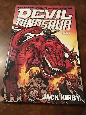 Marvel Devil Dinosaur by Jack Kirby The Complete Collection softcover book TPB