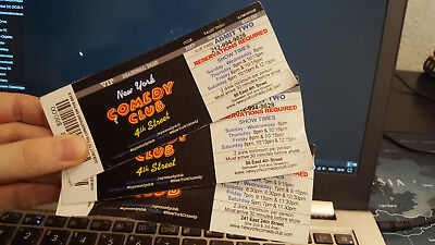 New York Comedy Club Ticket V.I.P. Seasonal Pass für 2 Personen