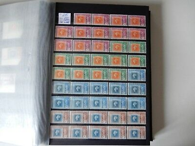 Final Lot 81 – Super Selection - Mauritius KGVI Issues - All Mint Hinged x44
