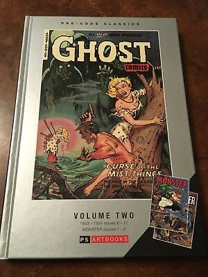 PS Artbooks Ghost Comics volume #2 hardcover book hc 50s precode