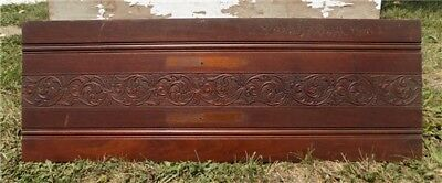 Decorative Wooden Panel Furniture Door Window Pediment Architectural Salvage c
