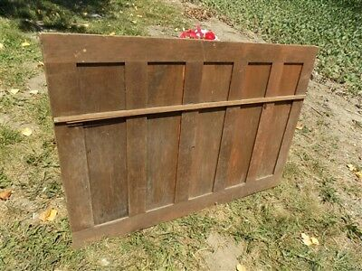 Decorative Wooden Panel Furniture Door Window Pediment Architectural Salvage h