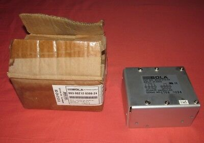 New = Sola Electric 83-24-212-03 ( 083-00212-0300-24 ) 24Vcd 1.2A Power Supply
