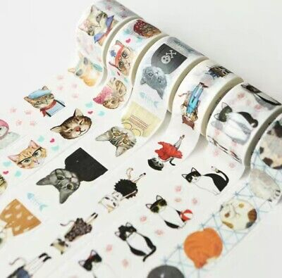 Washi Tape Cat 20-25mm wide sold by meter MT270