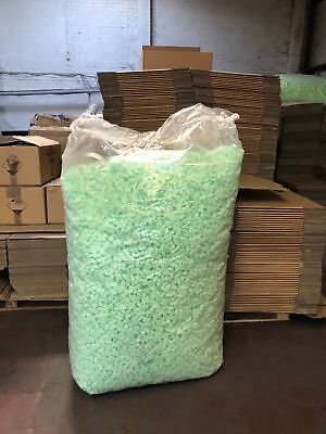 Polystyrene Chips loose void fill packing peanuts FLOPAK**15 CUBIC FEET**
