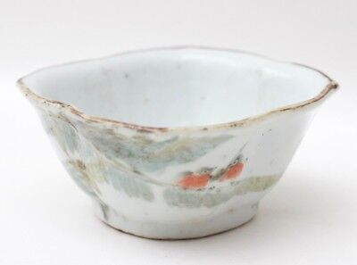 Chinese antique porcelain bowl Qing Famille Rose #4, China