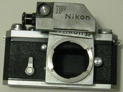 Nikon F Standard camera body with photomic finder