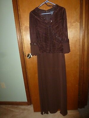 Cachet size 12 formal long dress