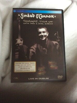 sinead o connor good night thank you dublin dvd