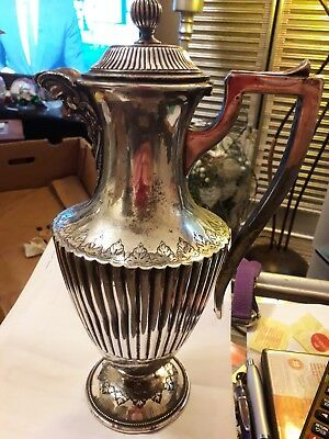 Silver Plated Claret Jug  1900 1910