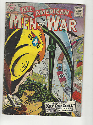 All American men of War #60 SILVER AGE 1958 DC war COMIC ISSUE