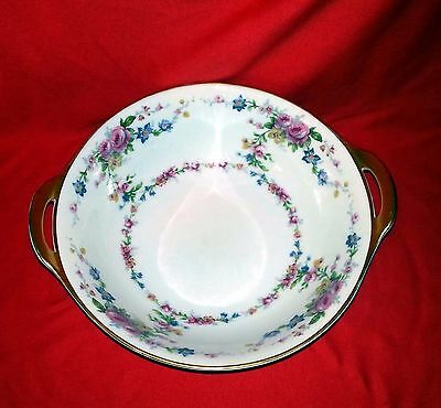"Haviland's Parisiana China France - Round Vegetable Serving Bowl - 9"" Diameter"