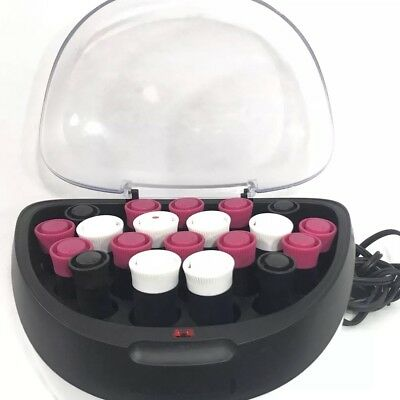 Remington Hot Roller Set Wax Core 20 Piece H5600 Multi Sized Cool Touch Curlers