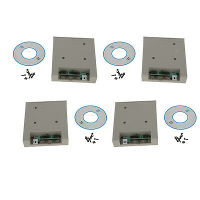 4pcs 3.5inch Floppy Disk Drive Emulator 1.44MB 2HD for USB Flash Drive SSD