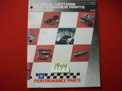 General Motors Gm Factory Issued 1990 Performance Parts Catalog Pp # 2