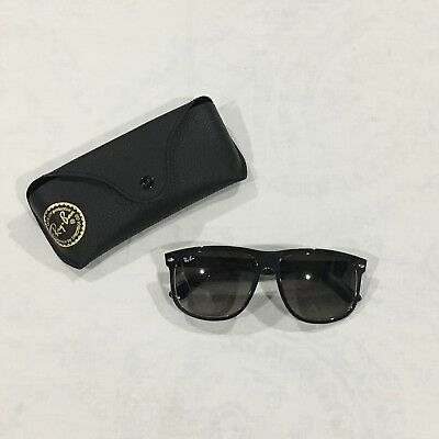 2bceb2a0192 RAY-BAN RB 4147 6039 71 Black   Crystal Square Sunglasses Gradient ...