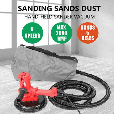 2 in 1 FREE DRYWALL SANDER HANDHELD DUST for PLASTER PLASTERBOARD GYPROCK WALL